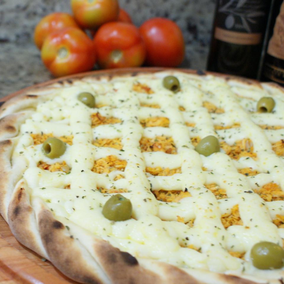 Promoção - Pizza frango com catupiry