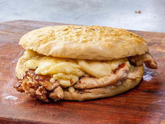 Sándwich de pollo 1/4 con queso
