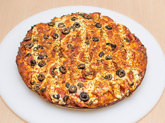 Pizza de pepperrock