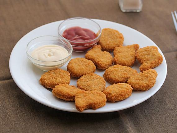 Nuggets de pollo (12 unidades)