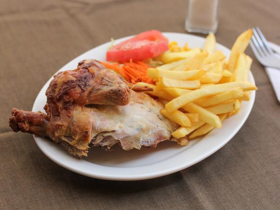 Pechuga de pollo asada