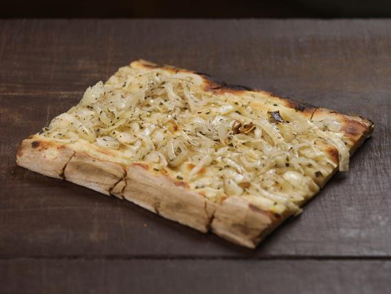 Pizza figazza (porción)
