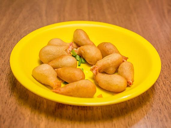 Camarão empanado (10 unidades)