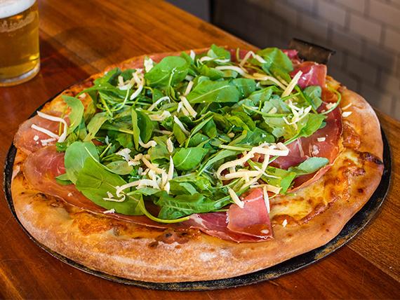 Pizza gourmet mediterránea