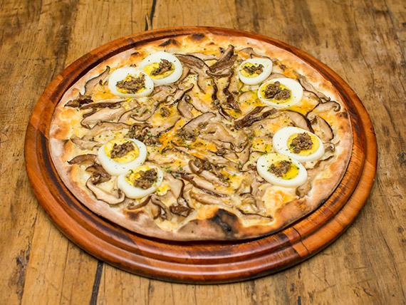Pizza cogumelos trufados