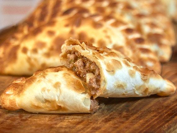 Empanada de carne suave
