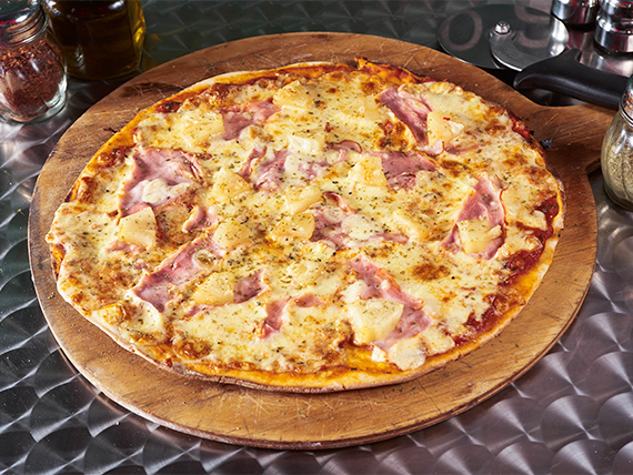 3 - Pizza hawaiana