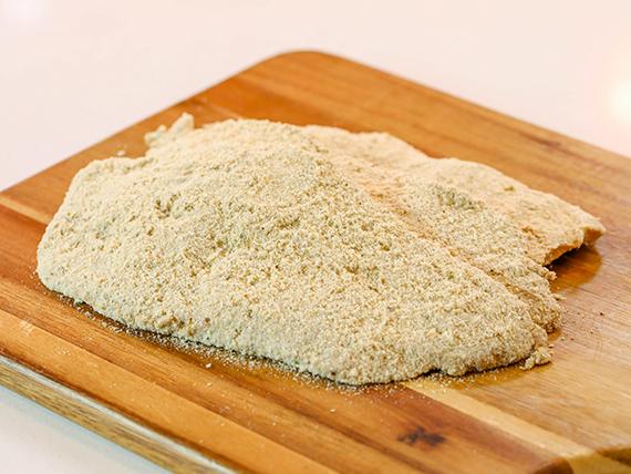 Milanesa empanada de pollo