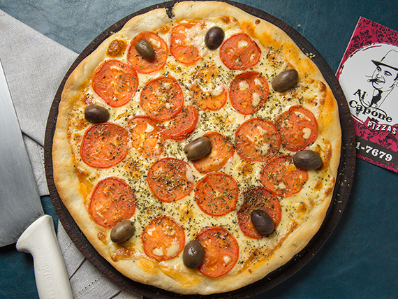 Pizza Nápoles (napolitana)