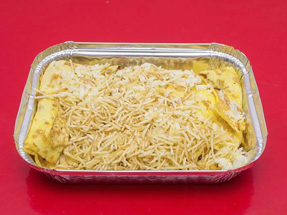 Omelete na chapa