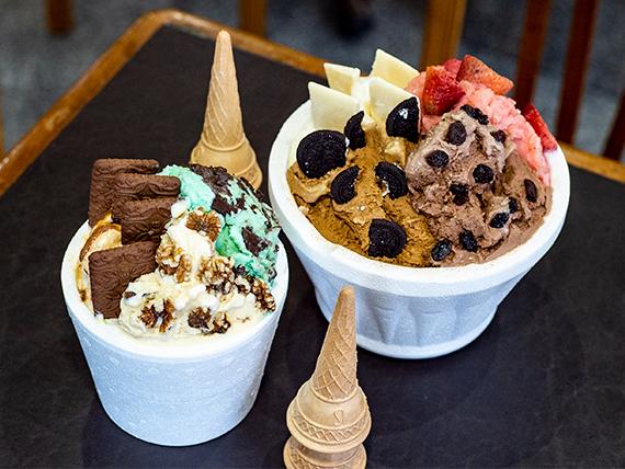 Promo Aniversario  - 1 Kg de helado + 1/2 kg + blister de  vasitos de regalo
