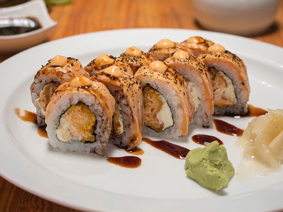 Hot passion roll (10 cortes)