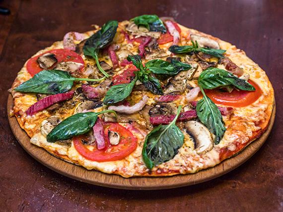 Pizza campesina (2 personas)