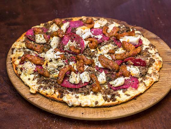 Pizza capriccio (2 personas)