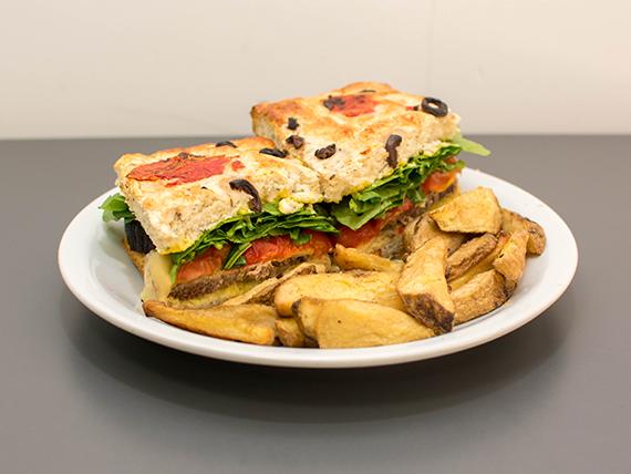 Sándwich de  ternera  (grande)