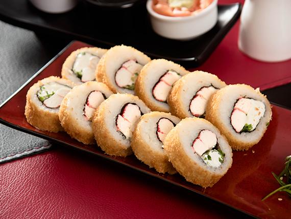 19 . Kani  hot roll (10 piezas)