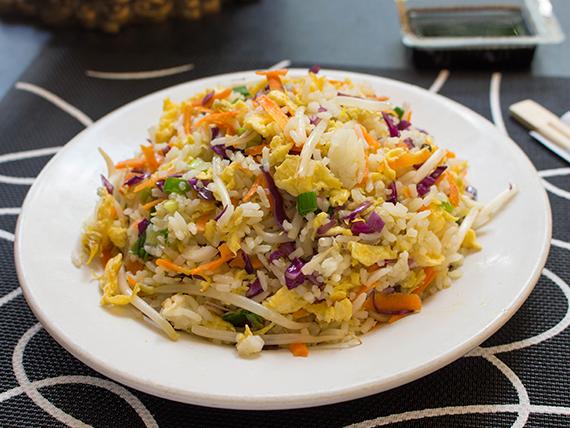 Chaw-fan con verduras