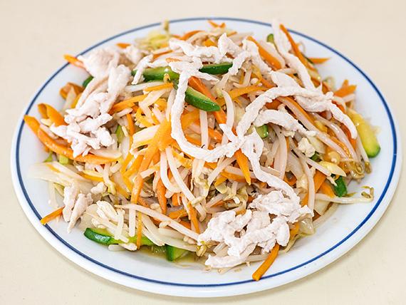 Chop suey con verduras