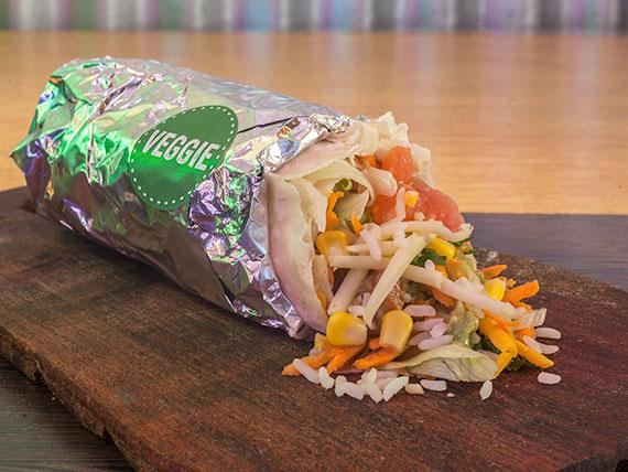 Burrito veggie