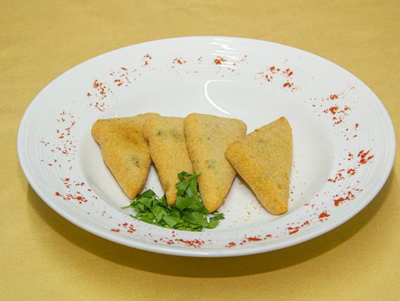 Mozzarella a la milanesa (4 unidades)
