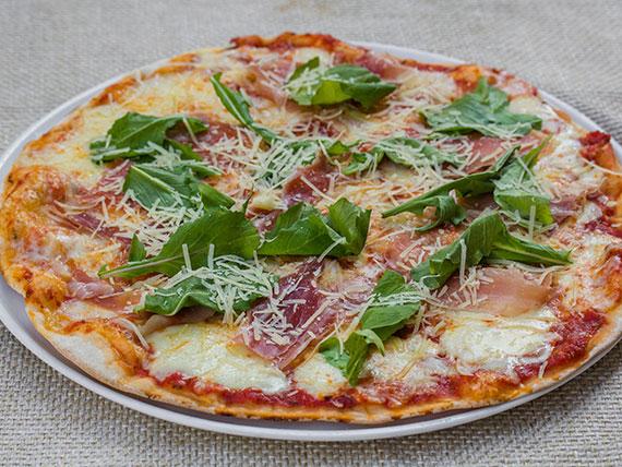 Pizza alla rúcula familiar