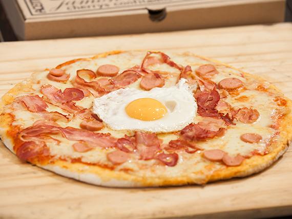 Pizza Americana (28 cm de diámetro)