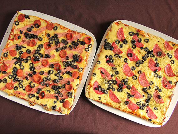 Promo 4 - 2 pizzas familiares