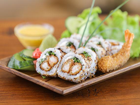 Ebi crunchy roll (10 piezas)