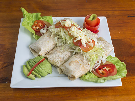 Burrito de carne de res