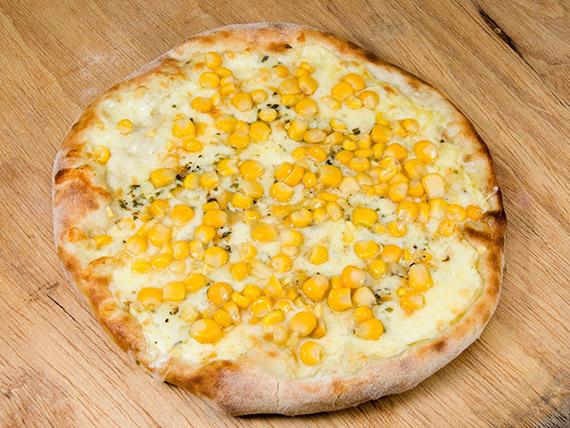 Pizza milho verde média