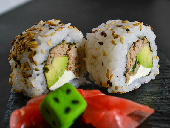 Tuna cheese roll