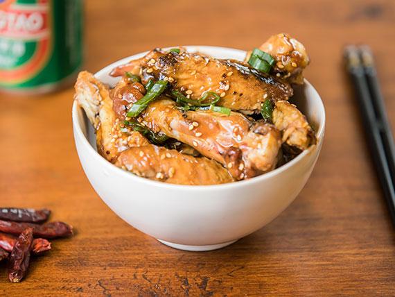 ¡Nuevo! - Korean chicken wings + cerveza 330 ml