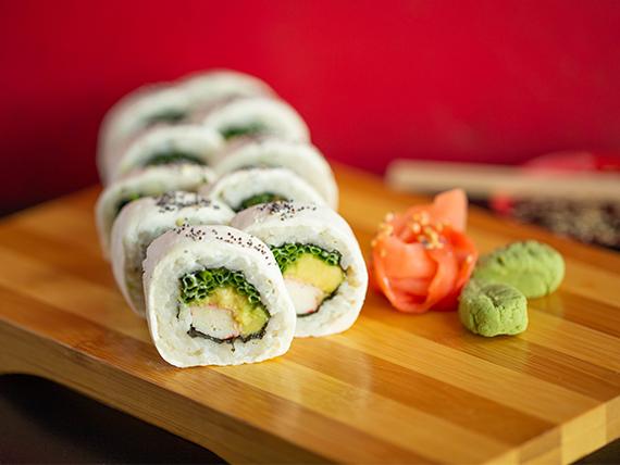 Cheese kani roll (10 piezas)