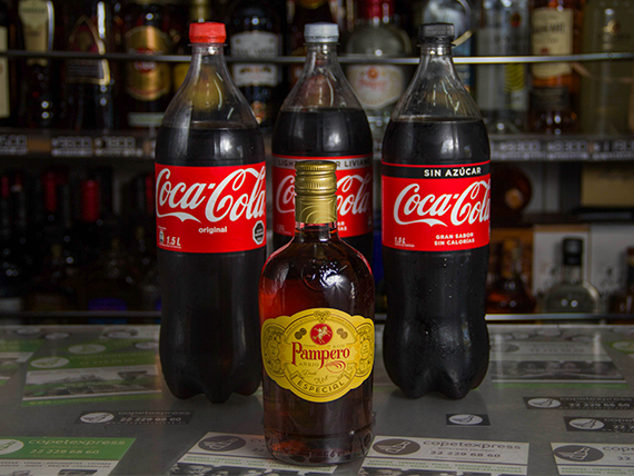 Promo 6 - Ron Pampero 750 ml + bebida 1.5 L