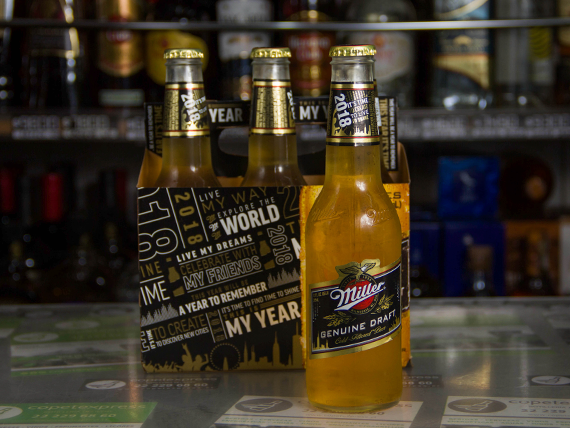 Six pack - Cerveza Miller botella 355 ml