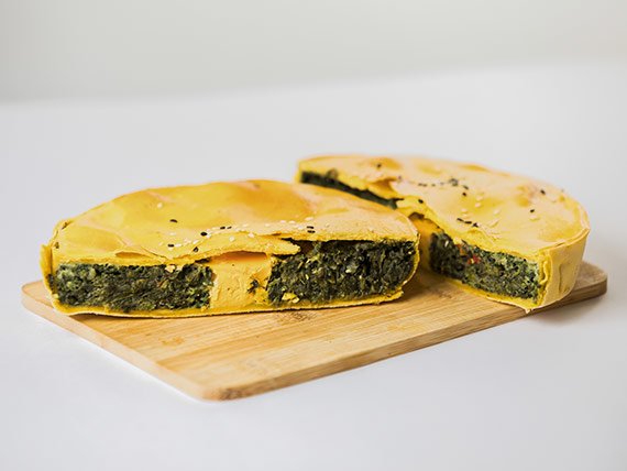 Tarta pascualina (dos porciones)