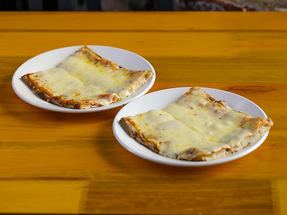 Pizza muzzarella 2x1