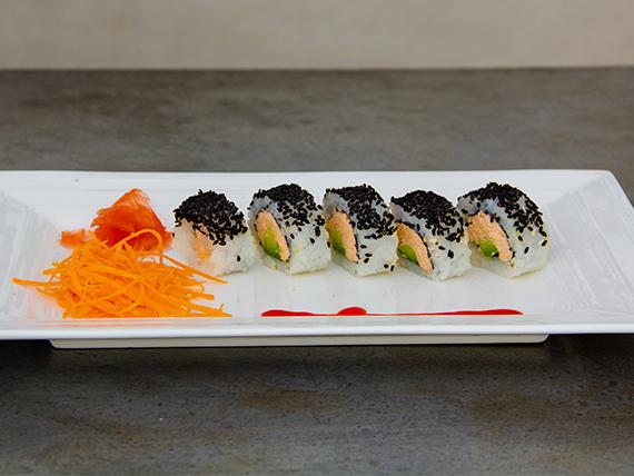 Baked salmón roll (5 unidades)