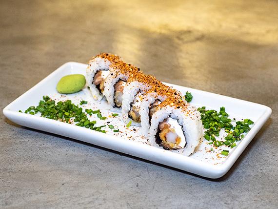 Spicy sweet salmón roll (5 unidades)