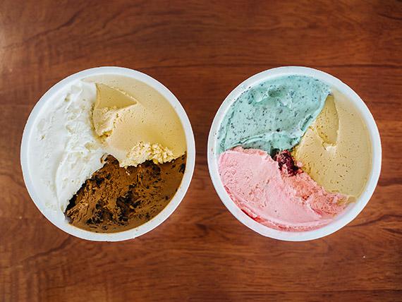Promo - 2 kg de helado