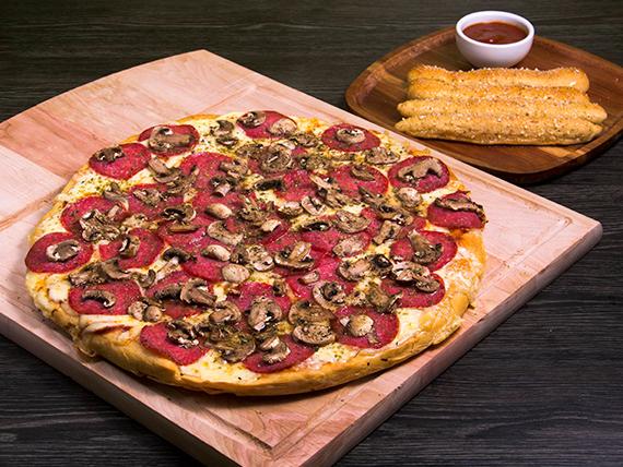 Pizza milanesa