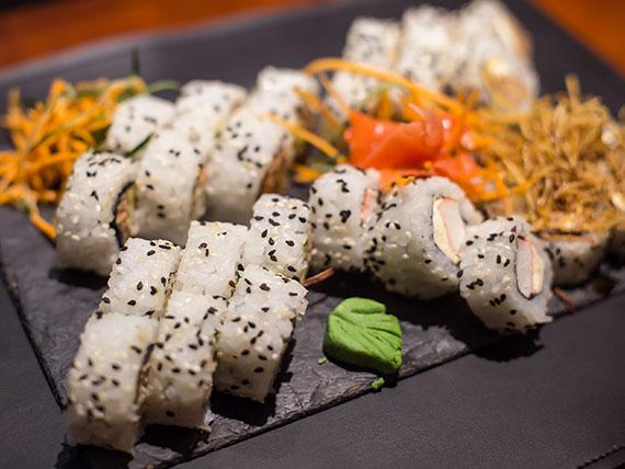 Promo - 40 piezas salmón y langostinos