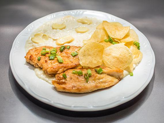 Super piamontes com frango (950 g)