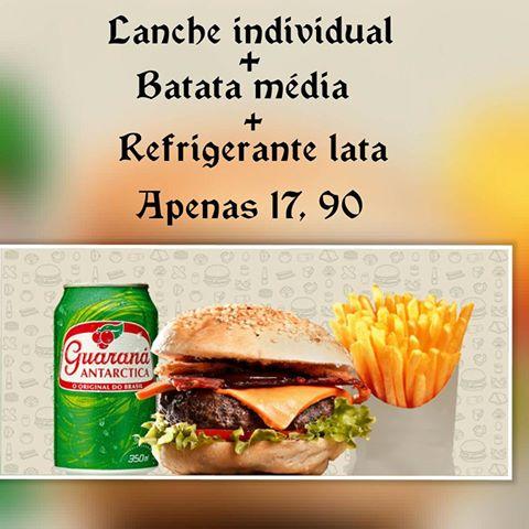 Promoção - 2 Salad individual + refrigerante lata + porção média de fritas
