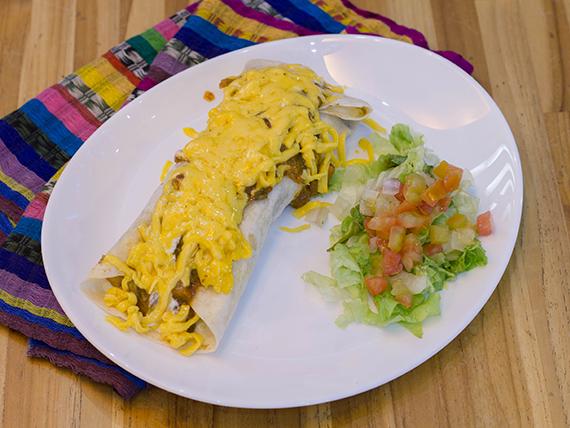 Pollo enchilada (frango)