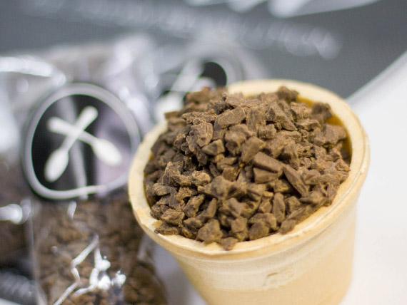 Granizado de chocolate negro