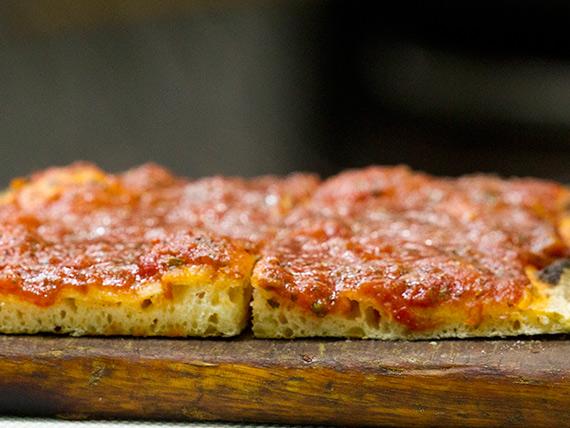 Porción de pizza