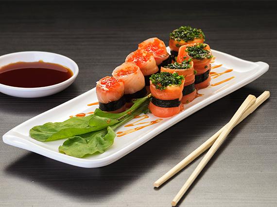 Sashimi appetizers (8 unidades)