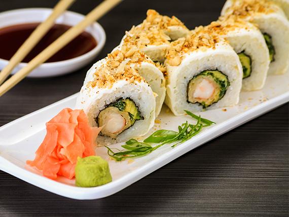 Ebi sake cream roll