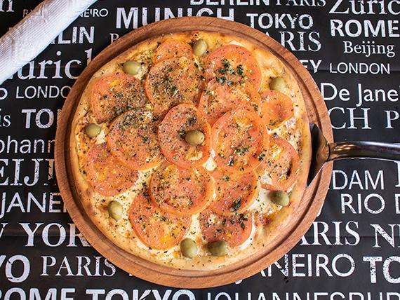 Pizza napolitana a la piedra